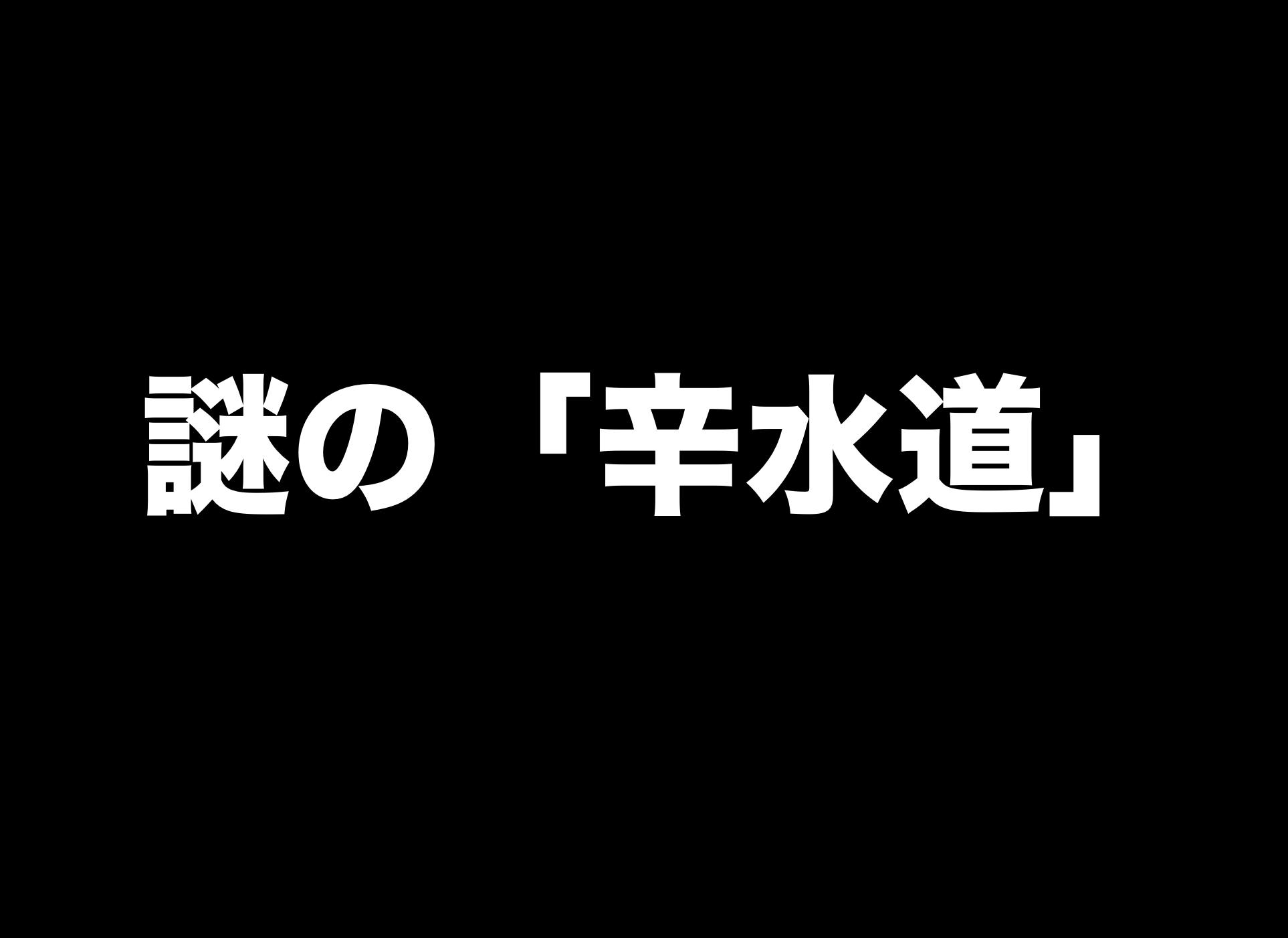 """""""日常をエンタメ化""""新しい陰陽道! 謎の「辛水道」を考案"""